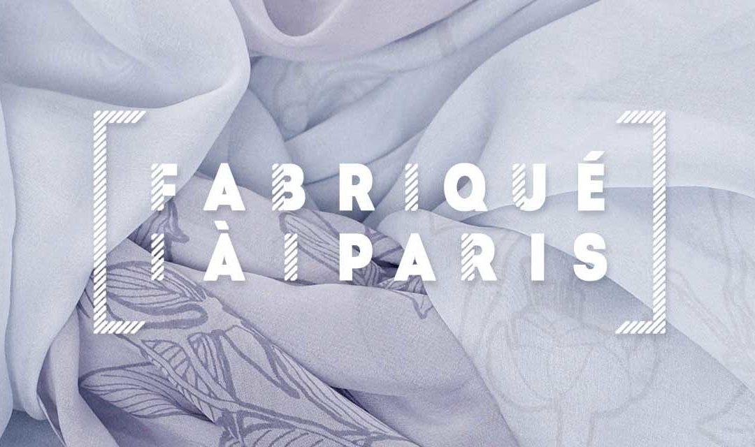Couleurs du temps obtient le label Fabriqué à Paris